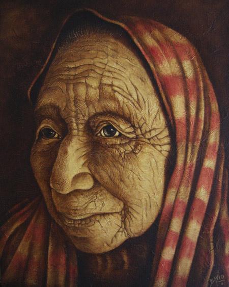 Anciana Izamal